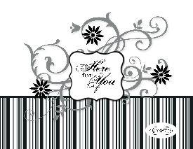 Baroque Motifs Card 1-001